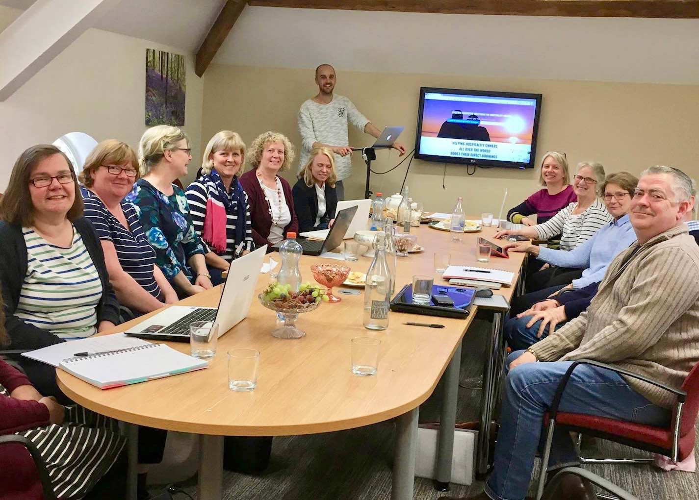 Farm Stay Meeting Workshop with Mark Simpson