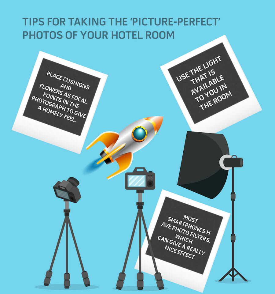 Take great photos to boost hospitality bookings