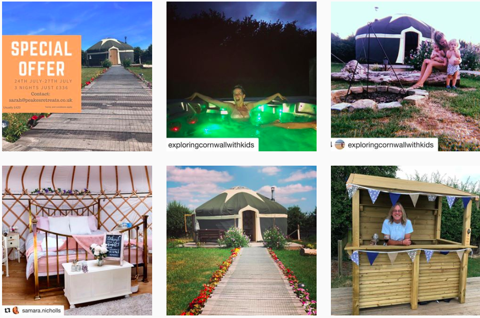Check out Instagram Peakes Retreat For more