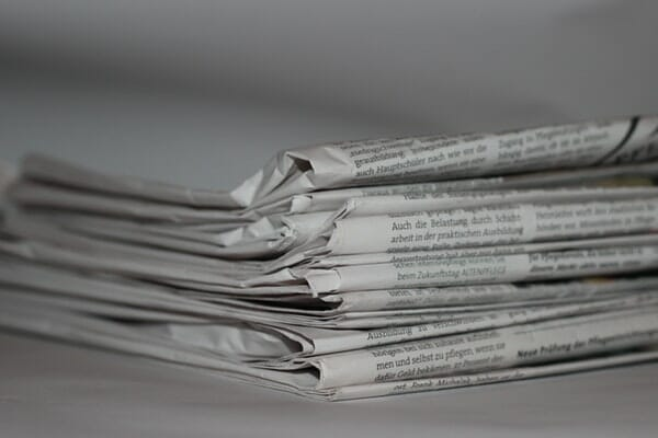 blog ideas will come easier if you read other blogs and newspapers