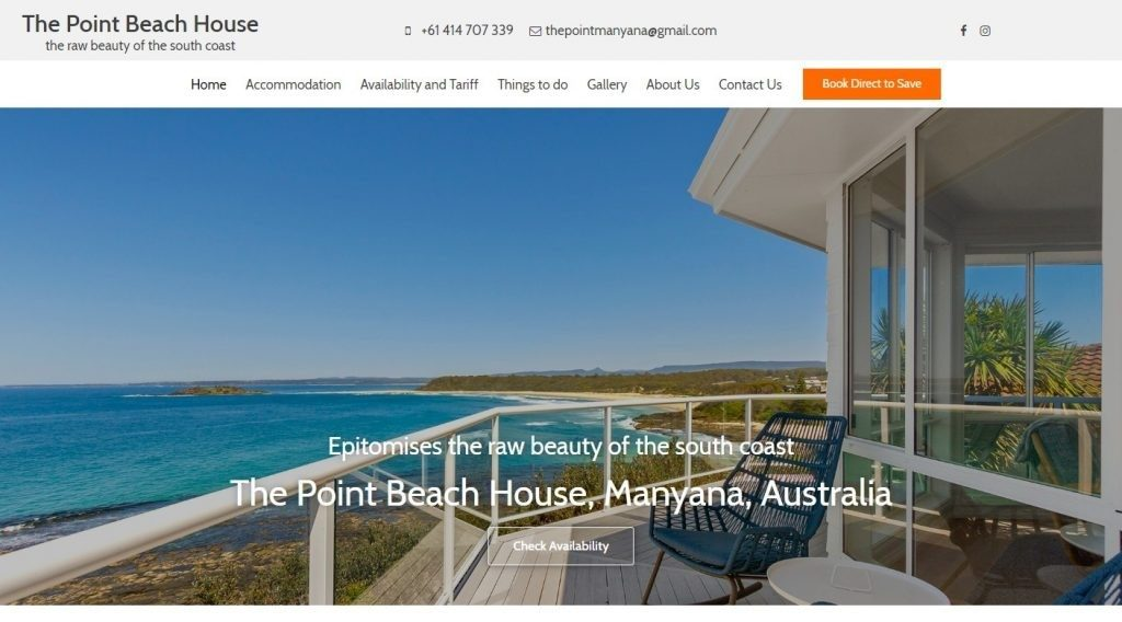 Rental Accommodation website