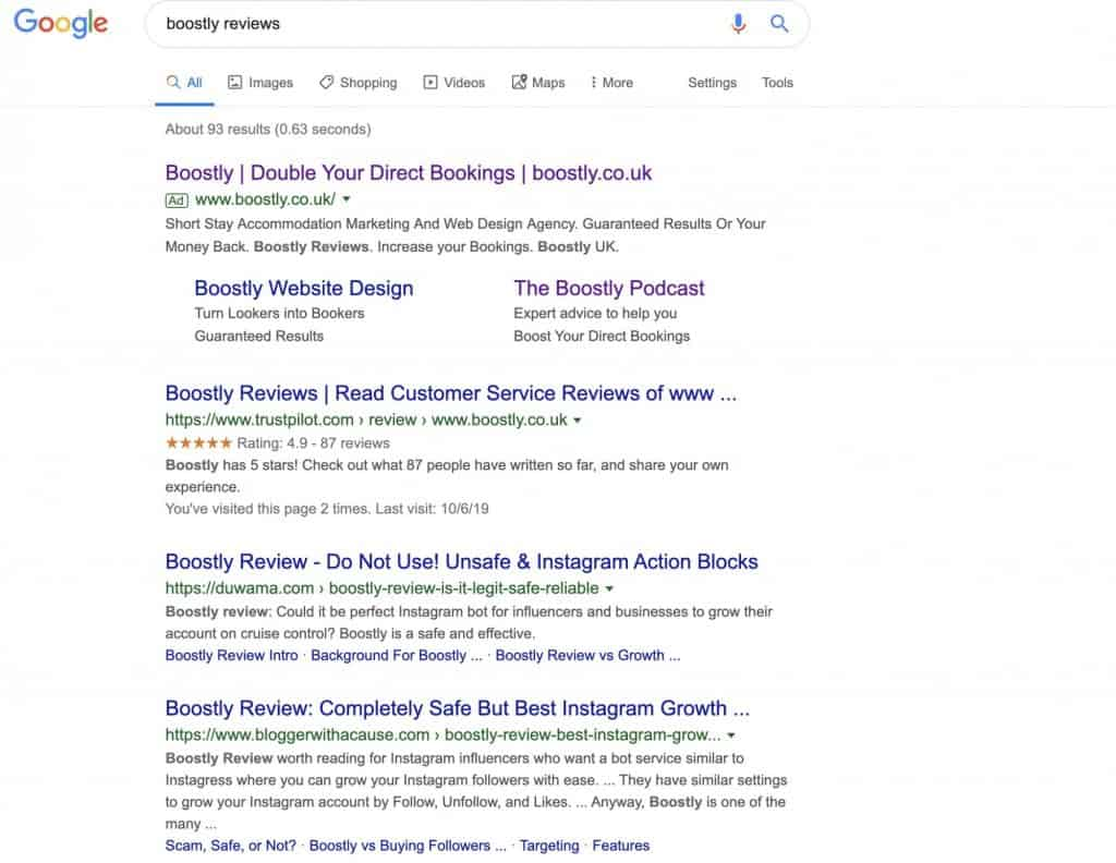 Boostly Reviews
