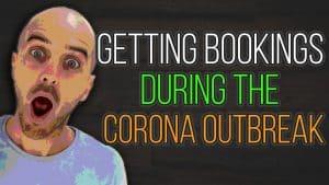 coronavirus bookings
