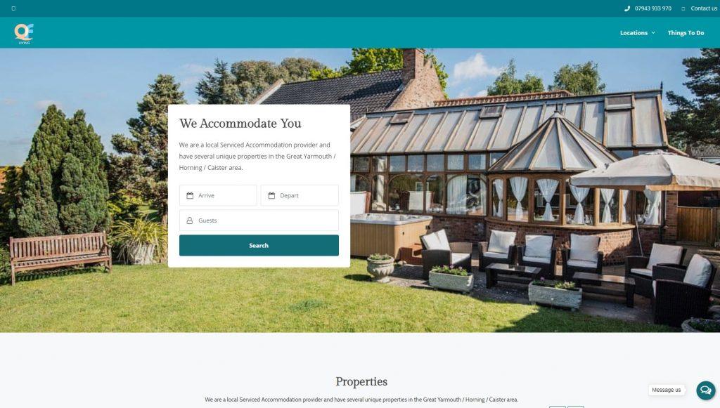 Multi Property Website Design