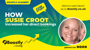 How susie croot increased his direct bookings