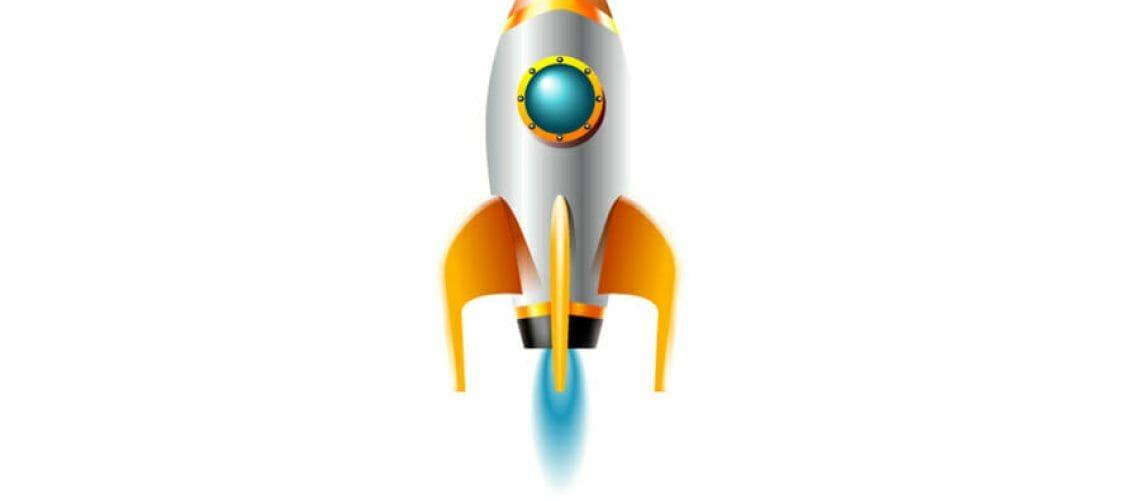 Boostly rocket ship marketing