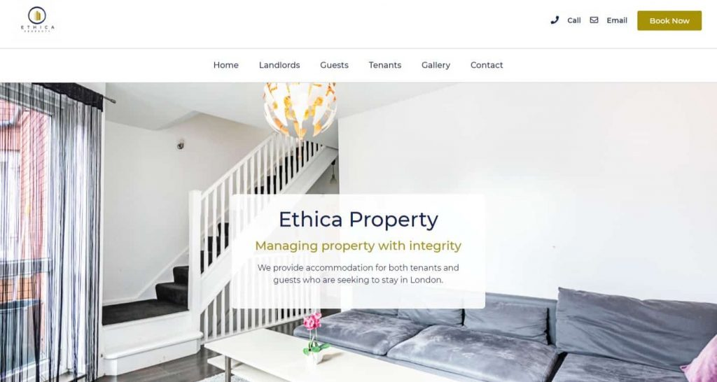 Home - Ethica Property Ltd - #BookDirect