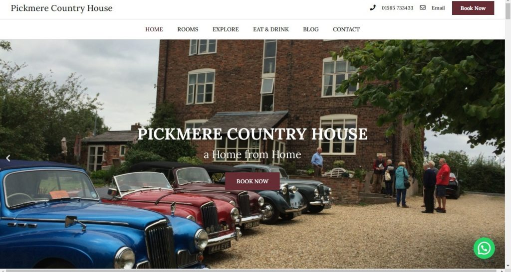 Home - Pickmere Country House
