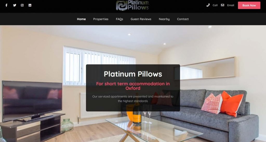 Home - Platinum Pillows