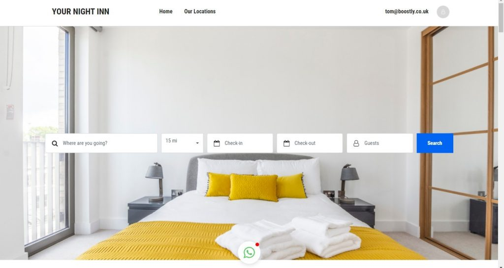Your Night Inn – Our Night Inn Is Your Night Inn. Bussiness Accommodation Made Easy